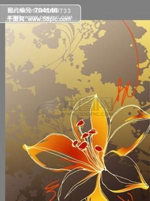 线描花卉图片素材免费下载,千图网为中国设计师们免费提供包括 -图