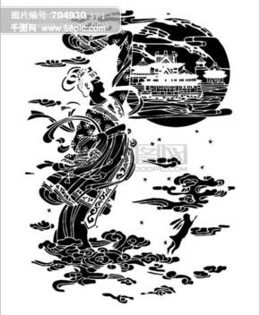 图片免费下载 嫦娥奔月玉兔素材 嫦娥奔月玉兔模板 千图网