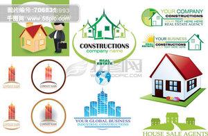 多款精致的房地产logo设计