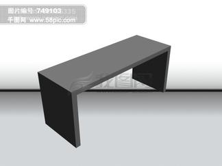 <i>长</i><i>条</i><i>桌</i>立体图