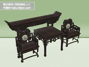 3d古典家具