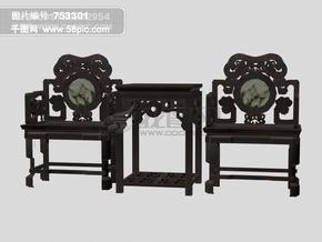 3d古典桌椅