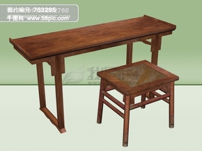 3d古典家具桌凳