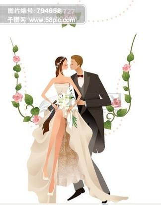 婚庆背景素材 婚庆<i>片</i><i>头</i>模板