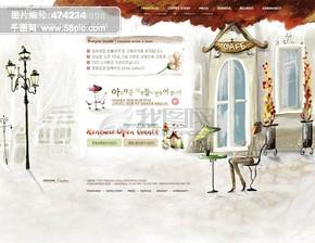 韩国网站模板_韩国网站模板下载