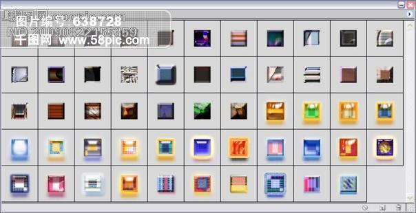 ps样式1矢量图免费下载 abr格式 编号638728 千图网