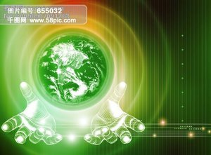 商务科技PS素材_科技时代